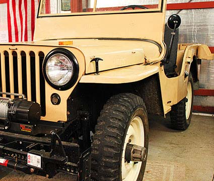 1946 CJ2A Willy Jeep