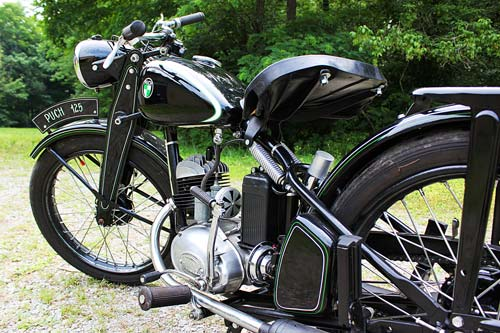 1950 Puch Motorcycle
